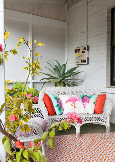 Eclectic Veranda by Twinkle and Whistle