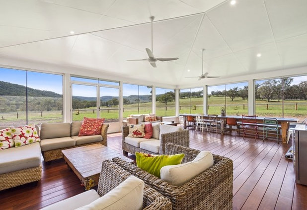 Traditional Verandah by Shelton Homes