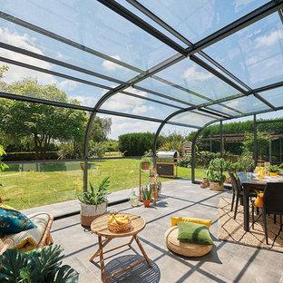 Abri terrasse panoramik | Des panneaux relevables pour une ouverture intégrale