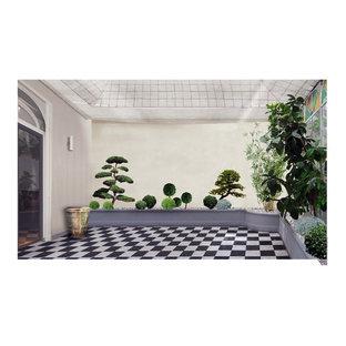 Du photomontage proposé au client à la réalisation suivant budget végétaux
