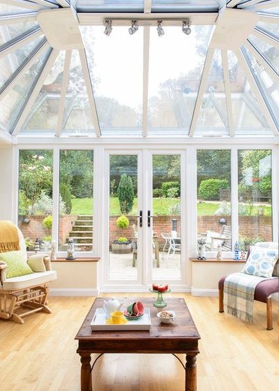 Edwardian Conservatory In Hampshire Traditional Sunroom