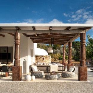 Exemple d'un porche méditerranéen.