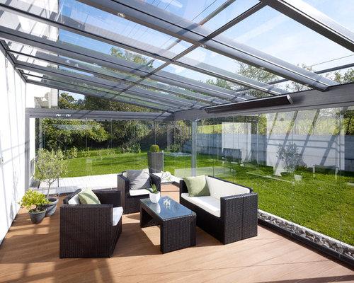 idee Glass veranda : Verandas et verri?res avec un plafond en verre : Photos et idees ...