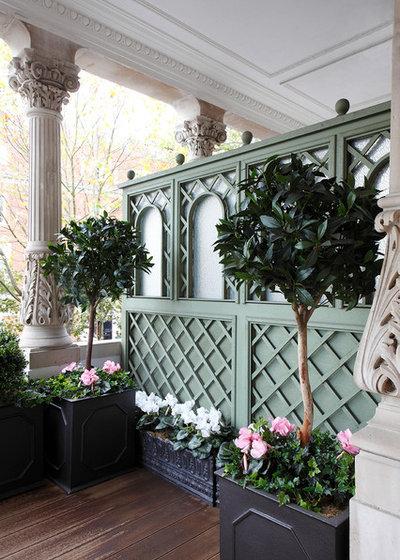 Traditional Porch by Nesterova Interior Design
