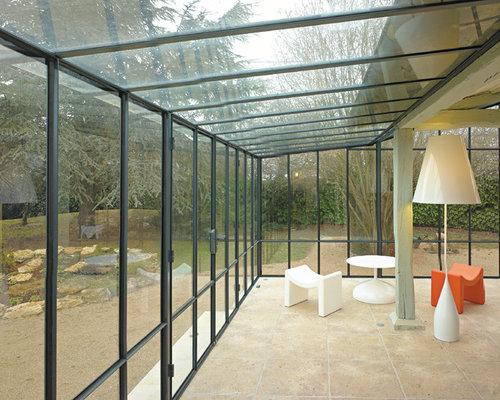 moderner wintergarten mit terrakottaboden ideen bilder. Black Bedroom Furniture Sets. Home Design Ideas