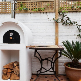 Photo of a modern veranda in London.