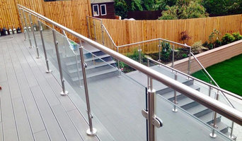 Professional Glass Balustrade - Large Decking Residential Job