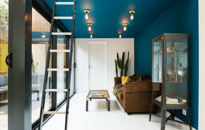 9 bonnes raisons d'oser le plafond coloré