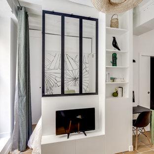 Studio parisien avec un air de maison de campagne