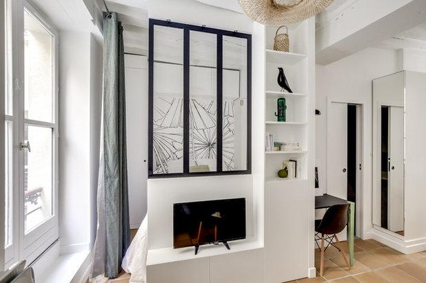Scandinavian Sunroom by Parisdinterieur