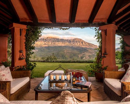Fotos de exteriores dise os de exteriores de estilo de - Exteriores de casas de campo ...