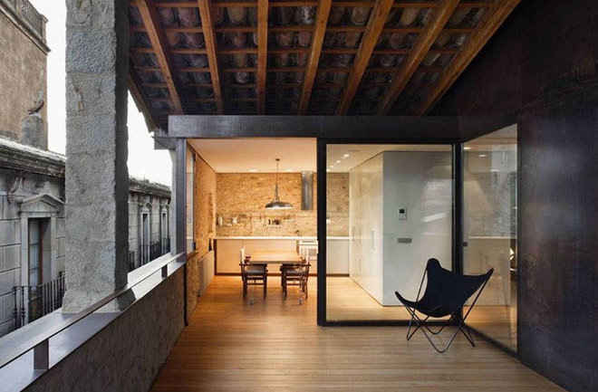 Contemporary Porch by World Architecture News (WAN)
