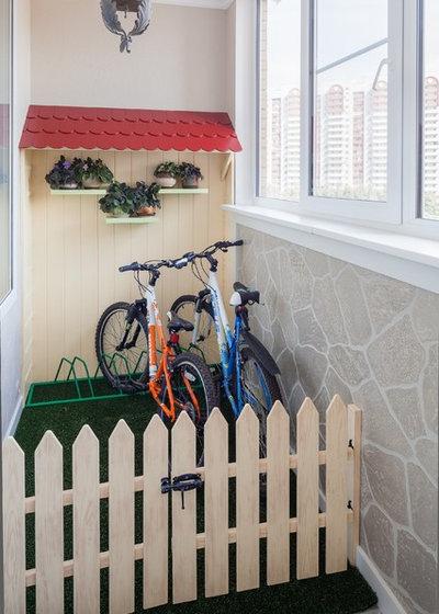 Современный Застекленная терраса by K-studio Interior Design