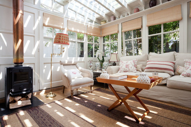 Traditional Sunroom by Studio Minerbi   SM