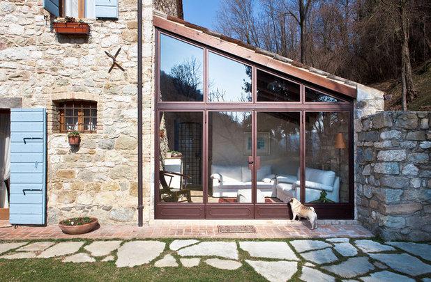 Veranda Cucina In Muratura Esterna.Pro E Contro Veranda In Pvc Alluminio Legno O In Muratura