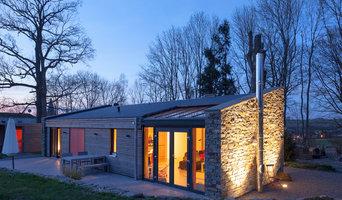 Fassadengestaltung und Außenbeleuchtung mit LED