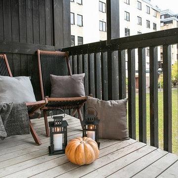 Uteplatser och balkonger