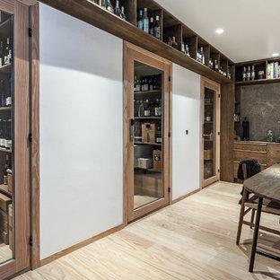 Wine cellar - scandinavian wine cellar idea in Copenhagen