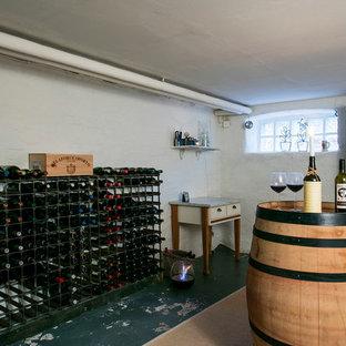Réalisation d'une cave à vin nordique.