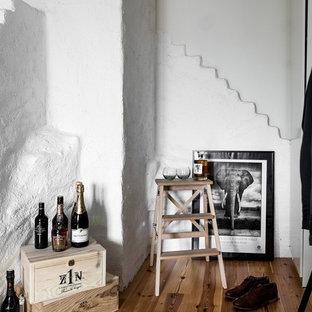 Scandinavian wine cellar in Stockholm.