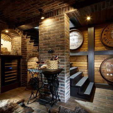 Дачный дом в стиле кантри | Weekend house in country style