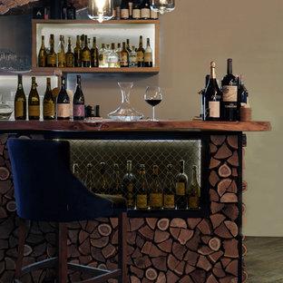 Idéer för att renovera en mellanstor industriell vinkällare