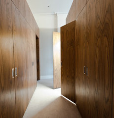 contemporary closet by moon design + build