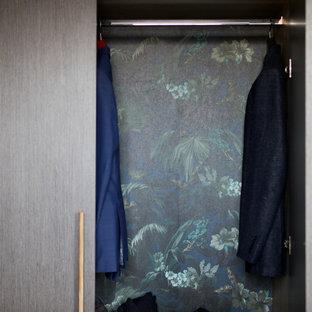 ロンドンの北欧スタイルのおしゃれな収納・クローゼットの写真
