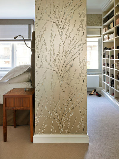 Contemporary Wardrobe by Clare Gaskin Interiors