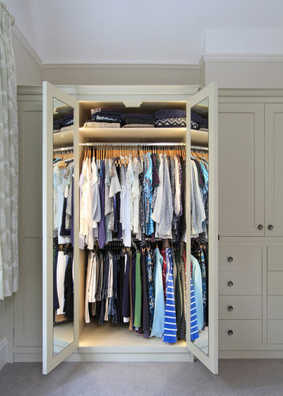 Traditional Wardrobe by Beau-Port Kitchens & Interiors