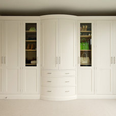 Transitional Closet by Inglish Design