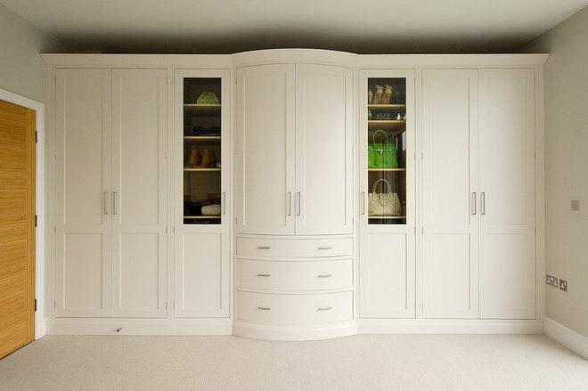 Transitional Closet by Inglish Design