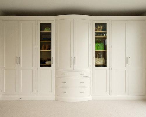 Built in wardrobe houzz for Built in cupboards designs