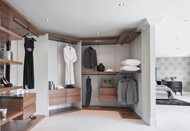 Modern Wardrobe by Alexander James Interiors