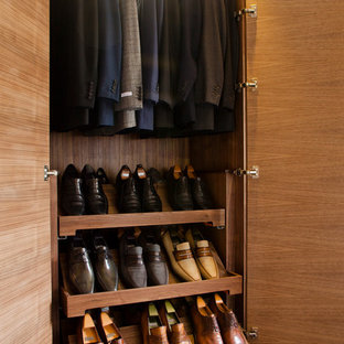 Design ideas for a contemporary storage and wardrobe in Other.