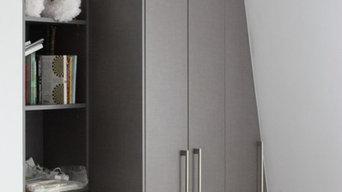 Bespoke fitted loft wardrobes in London