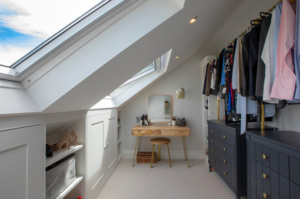 Transitional Wardrobe by Visionary Lofts