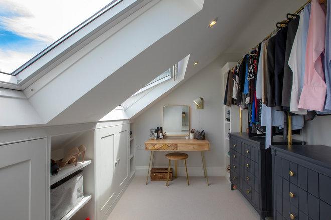 Transitional Wardrobe by Visionary Lofts