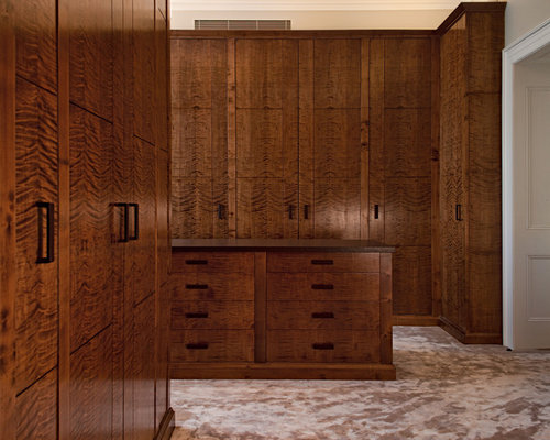 Built In Closet Cabinets | Houzz