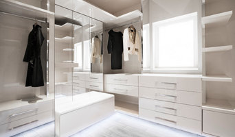 Contemporary Walk-In Dressing Room
