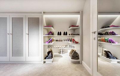 wie ein begehbarer kleiderschrank ideen f rs ankleiden liefert. Black Bedroom Furniture Sets. Home Design Ideas