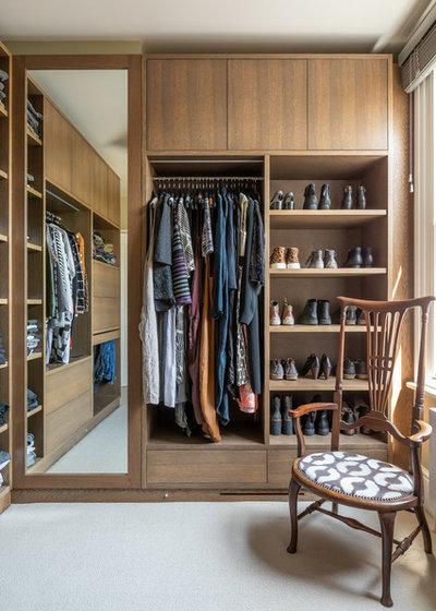Eclectic Wardrobe by Sara Slade Interiors