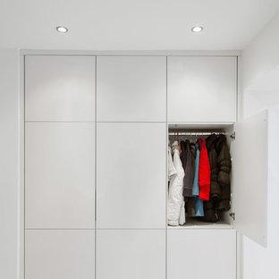 Idéer för en liten modern garderob