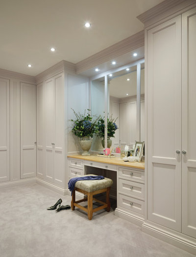 Traditional Closet by Charles Yorke