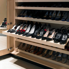 Contemporary Closet by Brayer Design