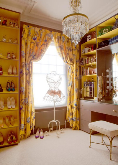 Eclectic Wardrobe by Fiona Andrews Interiors