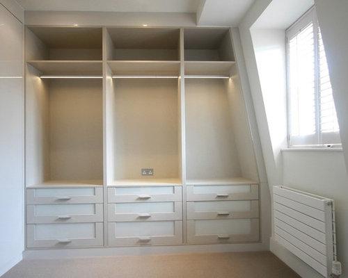 Foto e idee per armadi e cabine armadio armadi e cabine armadio contemporanei - Foto di cabine armadio ...