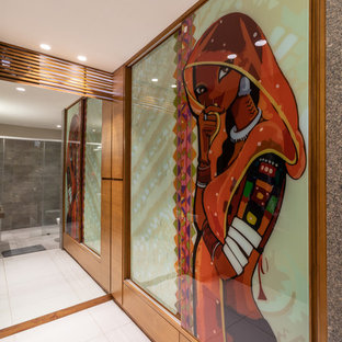 This is an example of a world-inspired wardrobe in Ahmedabad.