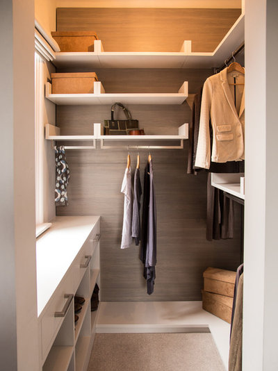 Contemporary Wardrobe by bolthole design