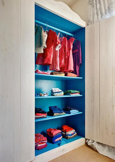 Contemporary Wardrobe by Mia Karlsson Interior Design